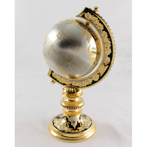 Decorated globe